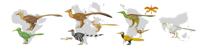 The Redesigned Dinosaurs, Arbrosaur diversity by Dragonthunders