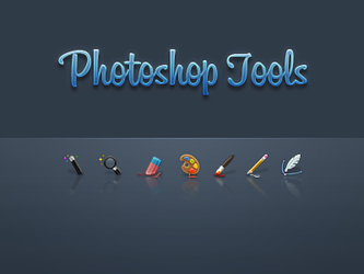 Photoshop Tools mini set 1 by JackieTran