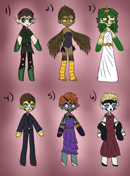 Mythical Princess/1920s Robot Adopts [CLOSED] by mr-dewittt