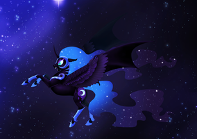 Nightmare Moon by SystemF4ilure