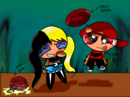 Bedlam did something to Brick's Brain...-Colored by Brashgirl901