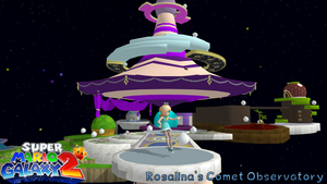 Super Mario Galaxy 2-Rosalina's Comet Observatory by FatalitySonic2