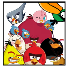 Angry Birds Family Photo by bluejay5678