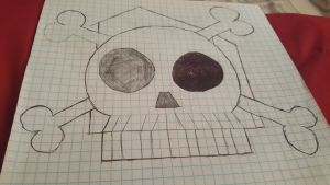 The Loud House Jolly Roger Flag by magmon47