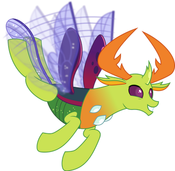 Vector #864 - King Thorax #10 by DashieSparkle