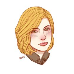 Inquisitor Lavellan Portrait by pookyhuntress
