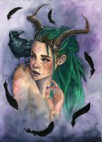 Queen of Crows by AmandaRamsey