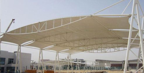 Tensile Structure - Tensile Car Park Manufacturer by fabchandigarh