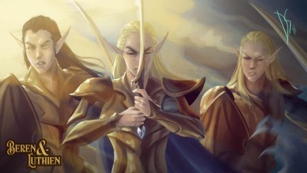 Elven Army by DIOSCUROS87