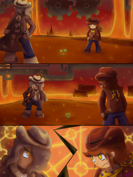 Standoff (Undertale Yellow / TSWFBY) by Passionrising