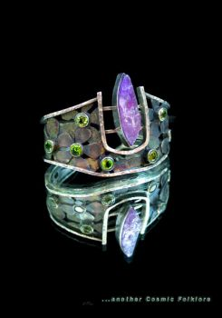 Vesica Pisces Cuff by CosmicFolklore
