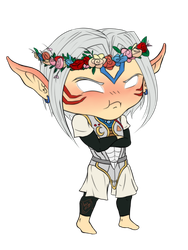 GIFT: Chibi Link for Roxanne by landiddy
