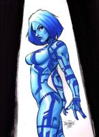 Cortana -HALO- (#1) by Scott D. by VMIFerrari