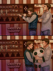 Shooting gallery : Chris x Piers by Gatokumn