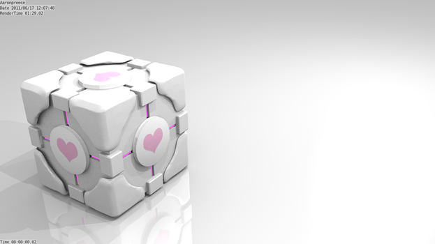 Companion Cube by Aaro1450