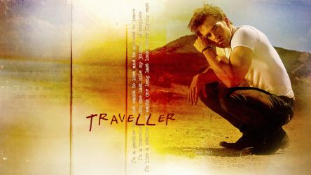 Chris Pine - Traveller - Version 2 by ireneglory