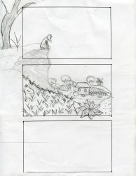 The Dog and The Wolf storyboard 3 by fanime1