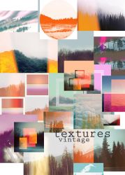 Vintage Textures-Forest Inspired by NYVelvet