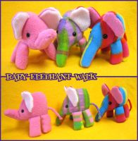 Baby Elephant Walk by mintconspiracy