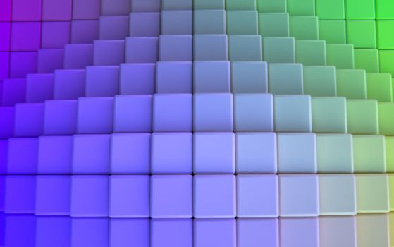Colorgrid Wallpaper by IamZandar