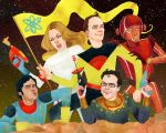 The Big Bang Theory...INN SPPAAAACE!! by kevinwada