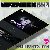 Upshock Website Launch at www.Upshock.com by AlejandroFiny