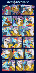 Dash Academy Chapter 7 - Free Fall #13 by SorcerusHorserus
