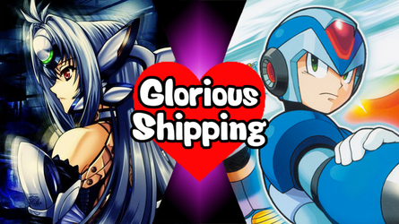 Glorious Shipping KOS-MOS and Megaman X by scott910
