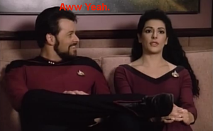 Riker's Aww Yeah Face by Sashova