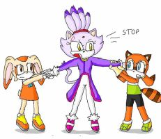 fighting for blaze by ninpeachlover