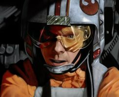 Luke Skywalker Fighter Pilot by jmont