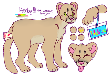 Kerby Reference - Kinzsona by OpaIescent