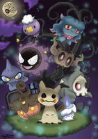 Pokemon Trick Or Treat by Kitsune-X-Inuzuka