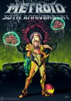 Metroid 30th Anniversary Tribute by Jevi93