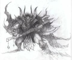 Chaos Knight by PeterSzmer