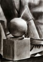Charcoal Still Life. Drawing I by Jesus-Fishboy