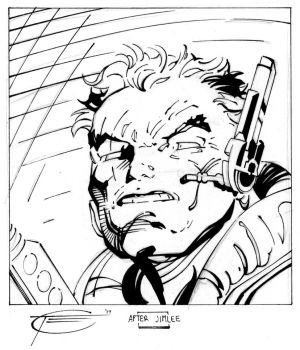 X-Men '92 Cable by Sketch64