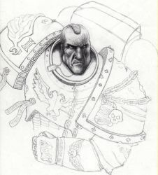 Space Marine by snottus