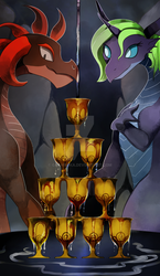 10 of Cups by GashibokA
