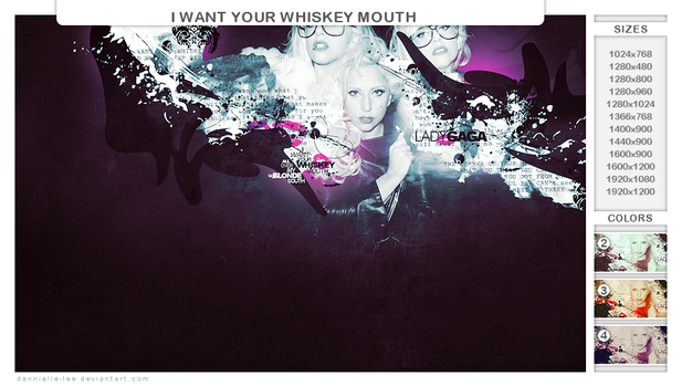 i want your whiskey mouth by dannielle-lee