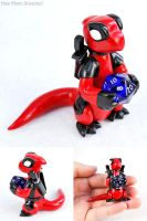 Deadpool Dragon v.2 by HowManyDragons