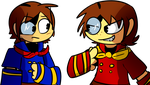 Vyse and Vize by ShadowtailsDerol