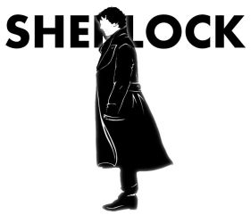 Sherlock Black And White by El-Olosta