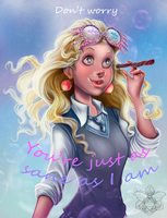 Luna Lovegood by IriusAbellatrix