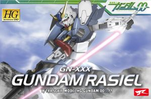 Gundam Rasiel Box Art by Rekkou