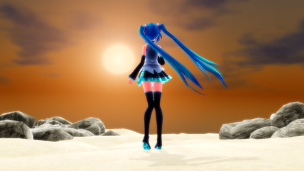   MMD  Sunset   by MikiMini23