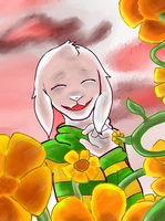 Asriel by ChrysanthemumSnow