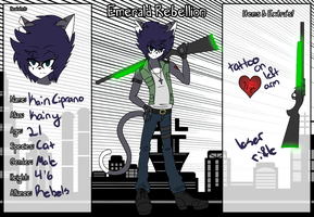 Emerald Rebellion Application: Kain Ciprano by MidniightStars