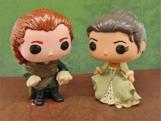 Outlander Custom Pops Claire  Jamie's Wedding by tool8smart