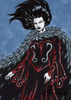 Morrigan AP Sketch Card - Classic Mythology II by ElainePerna